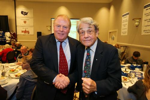 Tom Carroll with Leo Callahan