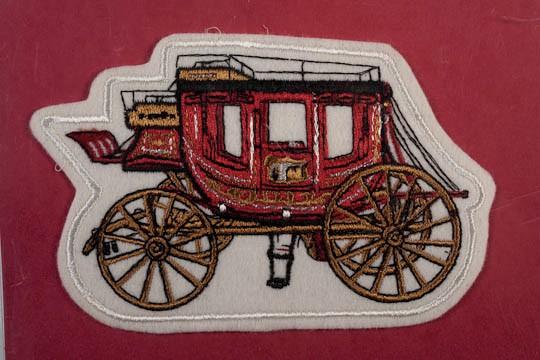 Concord Coachmen crest 1996 patch