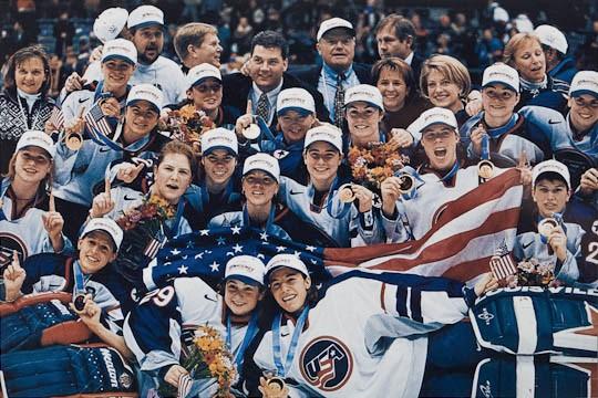 US Olympic Womens Hockey Team 1998