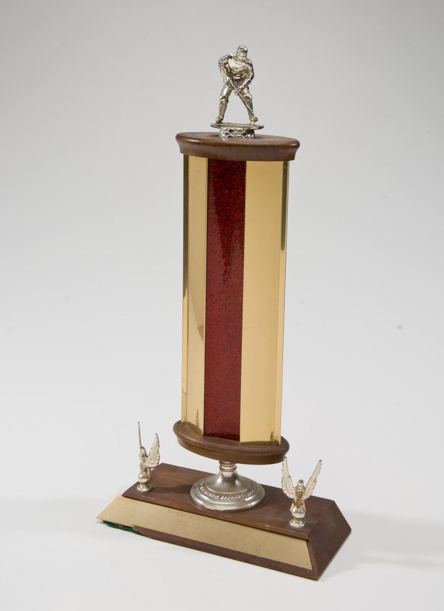 1965-66 Manchester Blackhawks MVP Trophy