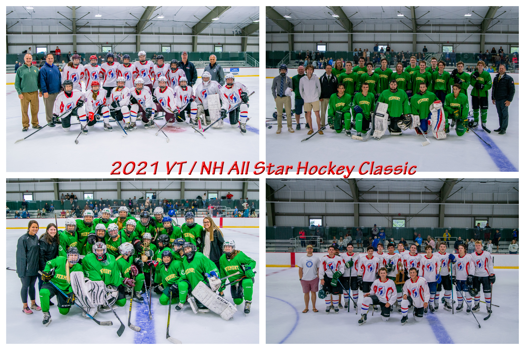 Vermont girls rally to beat New Hampshire at Make-A-Wish All-Star Hockey Classic